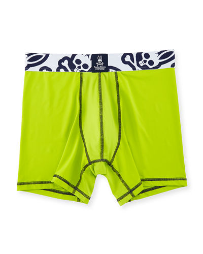 Power Short Performance Boxer Briefs, Macaw Green