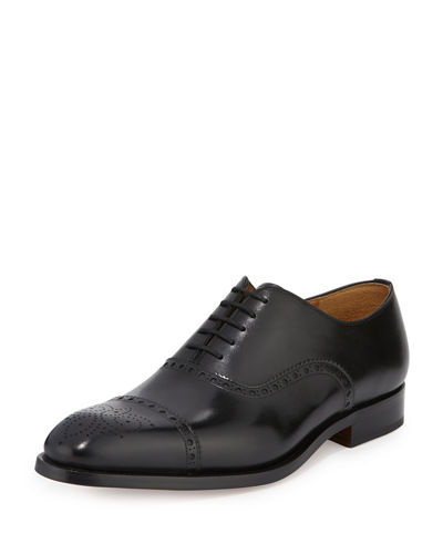 Cap-Toe Leather Oxford
