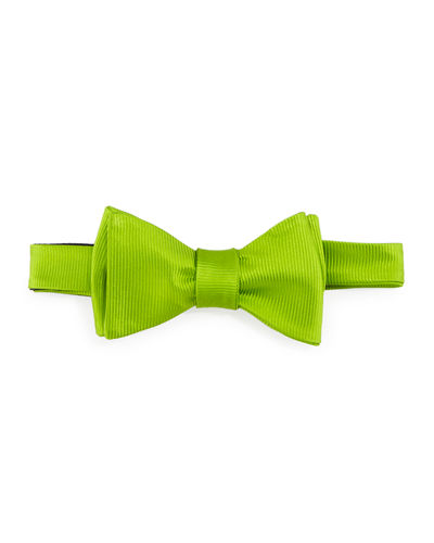 Solid Twill Bow Tie