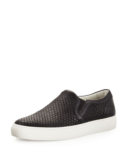 Lennon Leather Platform Sneaker