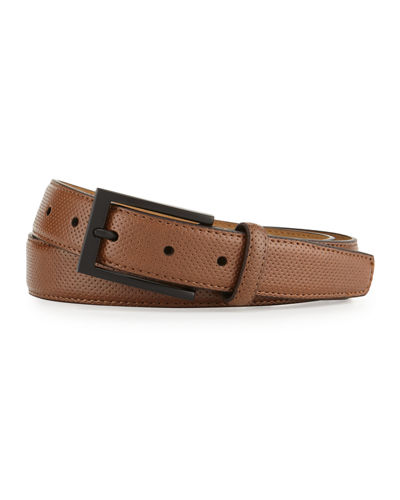 Leather Pin-Dot Belt