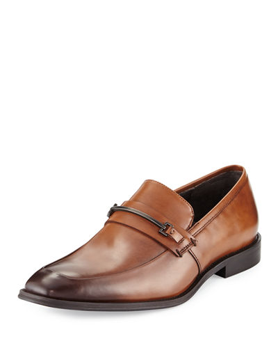 Shore Fit Leather Loafer