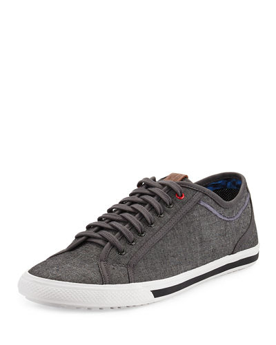 Connallo Canvas Low-Top Sneaker