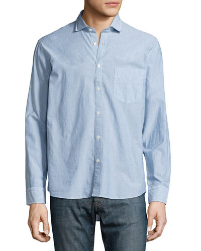 John T Woven Button-Down Shirt