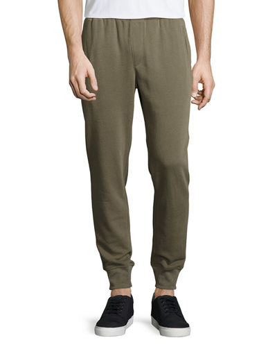Slim Fit Cotton Blend Sweatpants