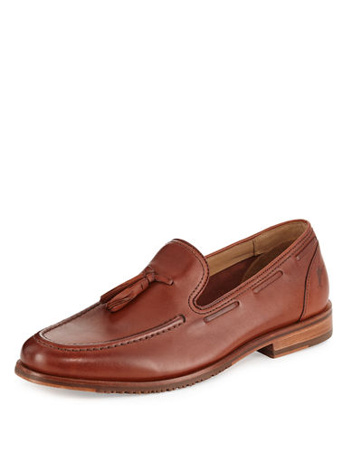 Filip Leather Tassel Loafer