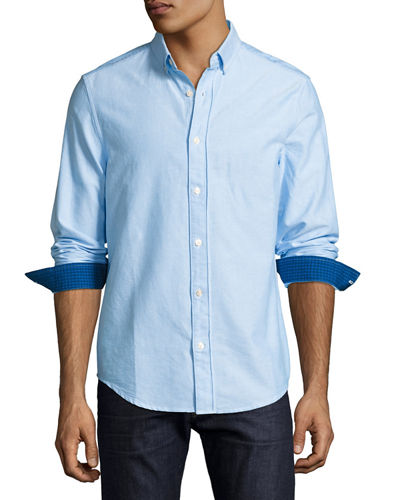 Classic Button-Down Oxford Shirt