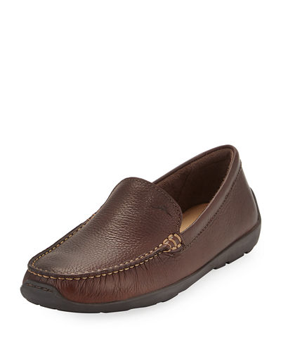 Amalfi Leather Slip-On Loafer