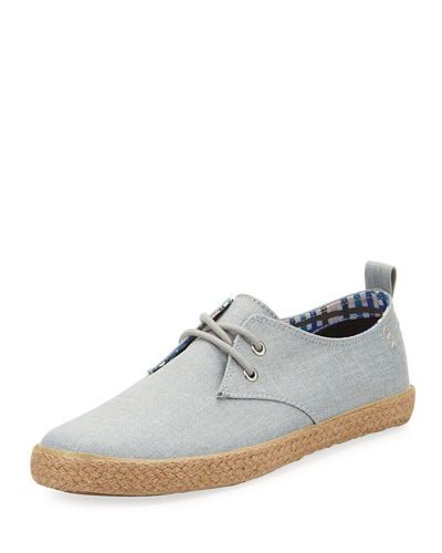 New Jenson Lace-Up Canvas Sneaker