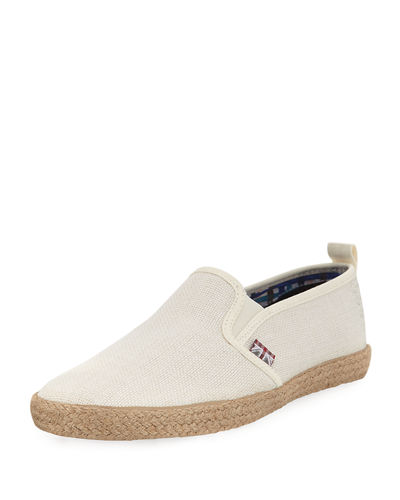 New Jenson Linen Slip-On Shoe