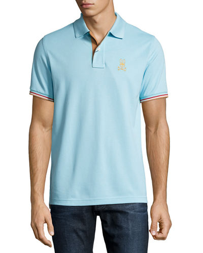 St. Lucia Cotton Polo Shirt