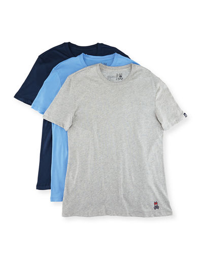Three-Pack Classic Cotton Crewneck Tee