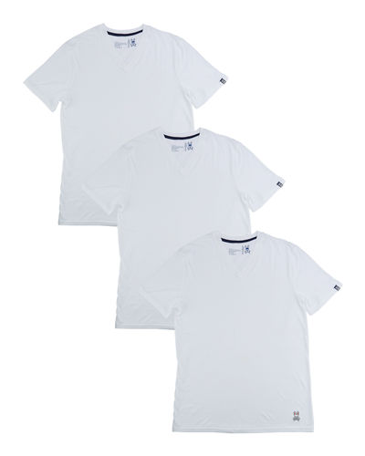 Three-Pack Classic Cotton V-Neck Tee