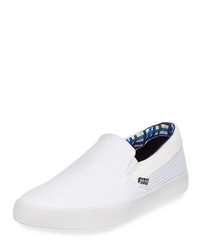 Percy Perforated Slip-On Sneaker