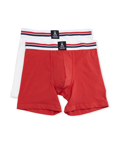 Tagless Stretch Boxer Briefs Two-Piece Set