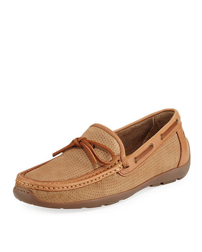Oden Perforated Casual Loafer