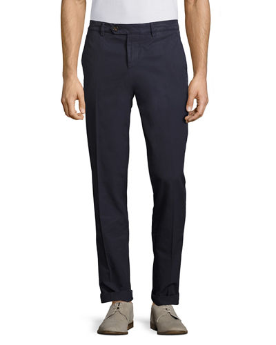 Regular-Fit Cotton Pants