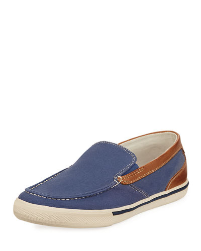 Costa Venetian Fabric Slip-On