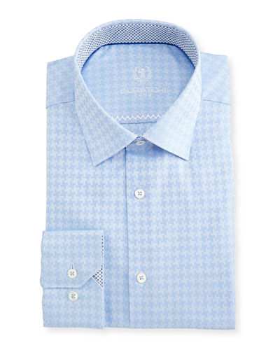 Point-Collar Dress Shirt