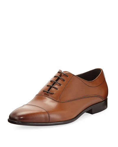 Carl Lace-Up Leather Dress Driver