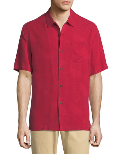 Rio Fronds Short-Sleeve Sport Shirt