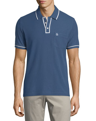 The Earl™ Contrast-Trim Polo Shirt