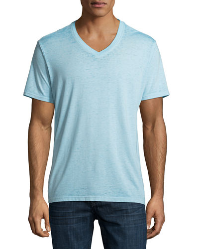 Short-Sleeve Burnout T-Shirt