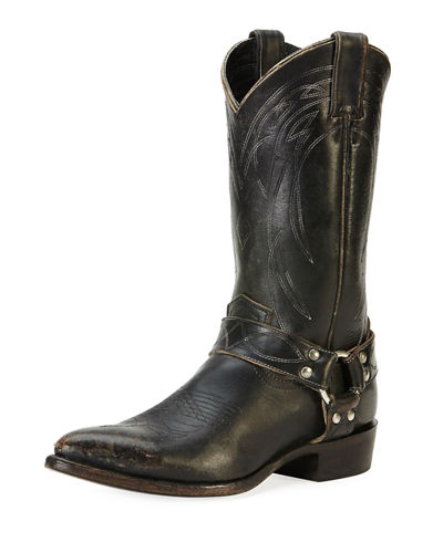 Billy Harness Calf-High Boot