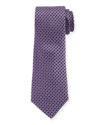 Satorial Check Silk Dress Tie