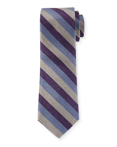 Heather Striped Dress Tie