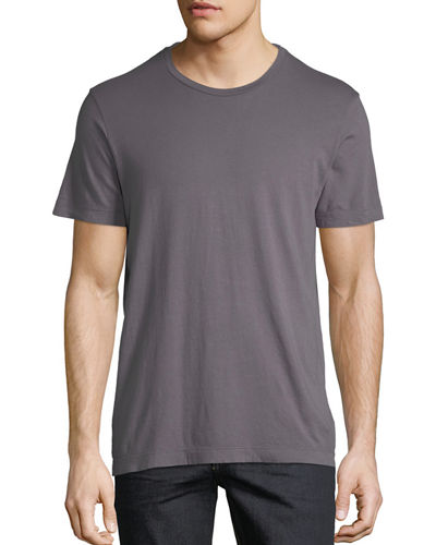 Soft Crewneck Short-Sleeve Tee
