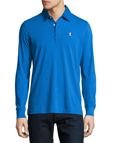 Marlon Long-Sleeve Polo Shirt