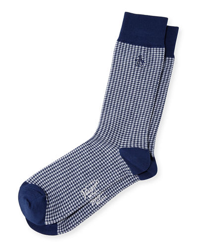 Lewis Gingham Socks