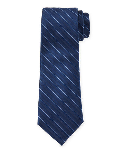 Striped Silk Dress Tie