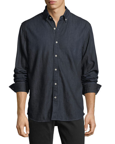 Denim Casual Sport Shirt