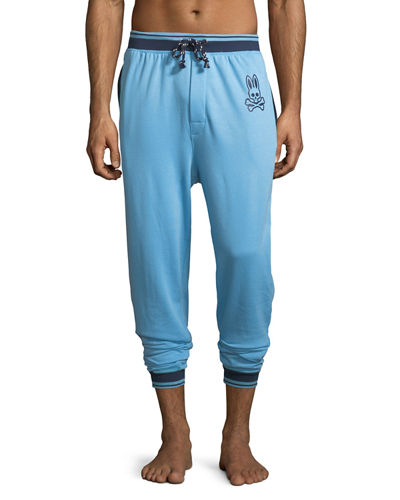 Terry Stripe Jogger Lounge Pants