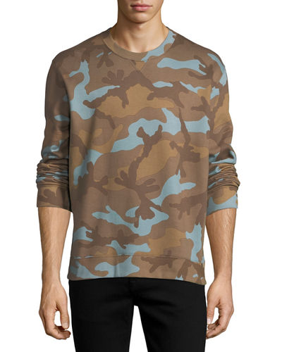 Camouflage French Terry Sweatshirt