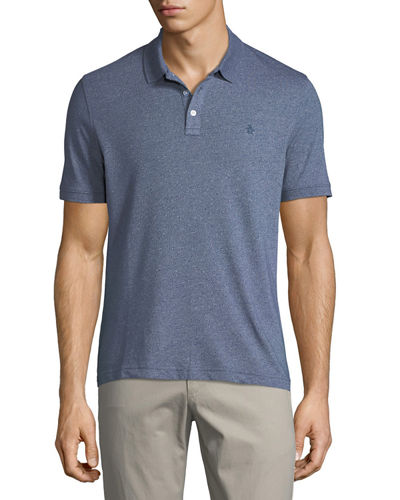 Jaspe Short-Sleeve Polo Shirt