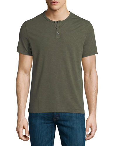 Half-Button Henley