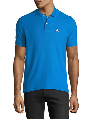 Embroidered Logo Basic Polo Shirt