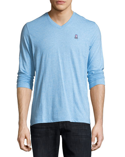 V-Neck Long-Sleeve Tee