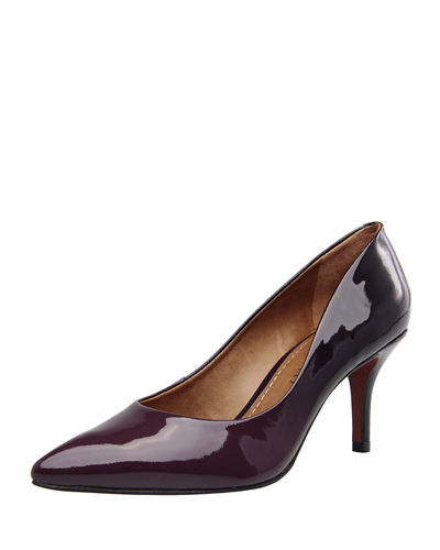 Francesca Patent Leather Pump
