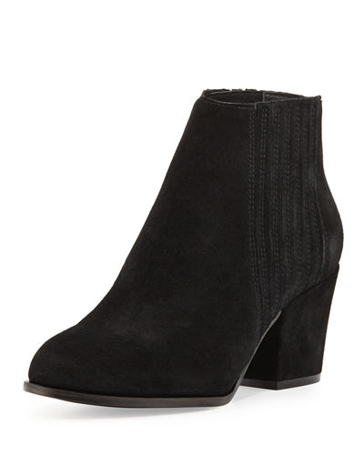 Hagan Suede Gored Bootie