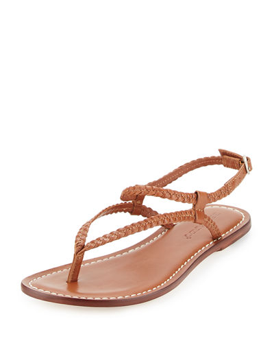 Merit Woven Leather Sandal