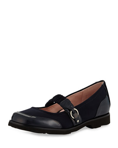 Jannye Traveler Mary Jane Flat