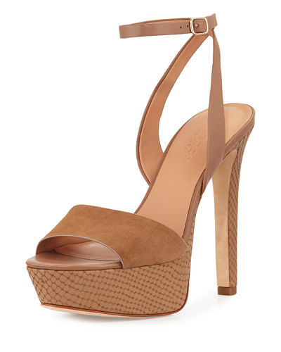 Bobbie Leather Platform Sandal