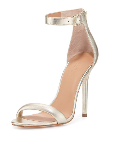 Ester Ankle-Strap Leather Sandal