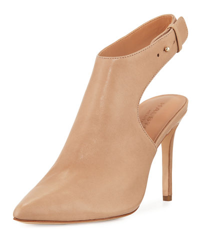 Betty Pointed-Toe Leather Bootie