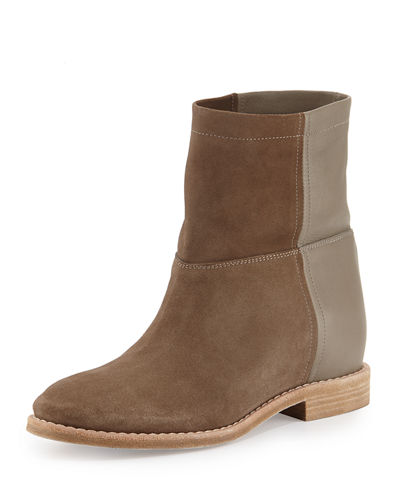 Grayson Suede & Leather Short Boot