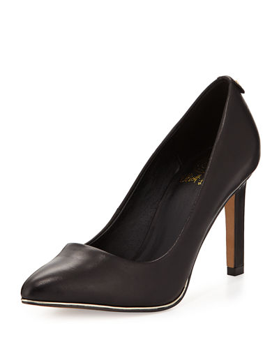 Catalina Leather Pump